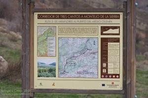 Mapa de la ruta al Medio Celemín en Bustarviejo