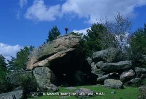 Cueva del Monje-Valsaín. Foto de A. Moreno (CENEAM)