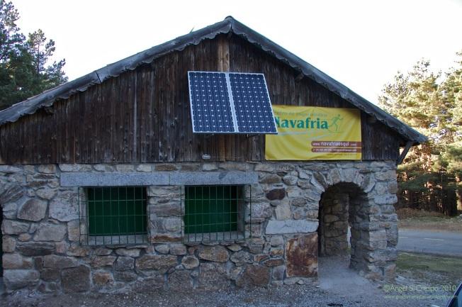 Refugio del Puerto de Navafría.