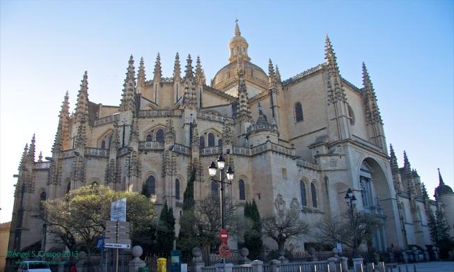 Actual catedral de Segovia.