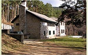 Edificio de la estación biológica.